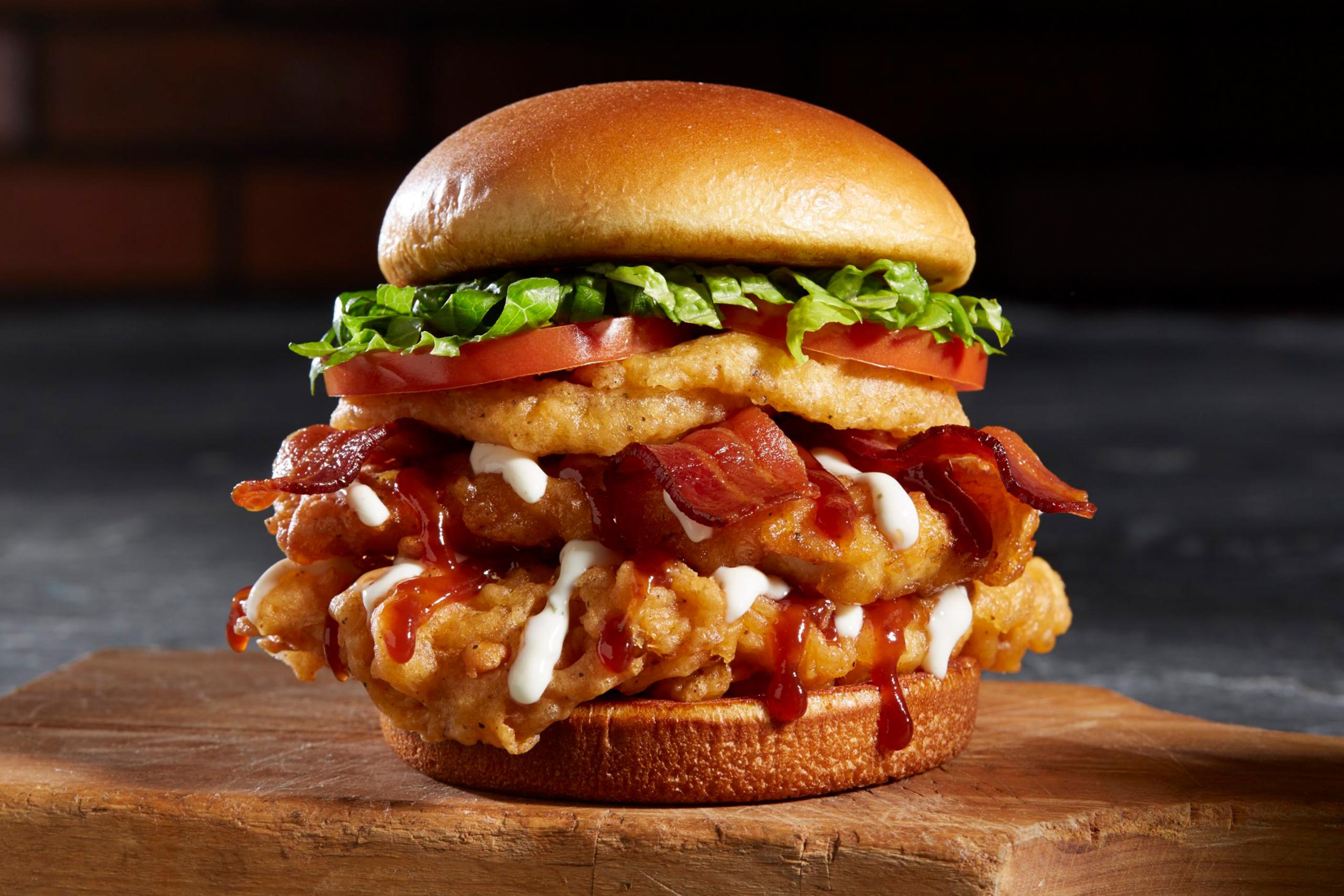 BBQ Bacon Tribeca Chicken Sandwich