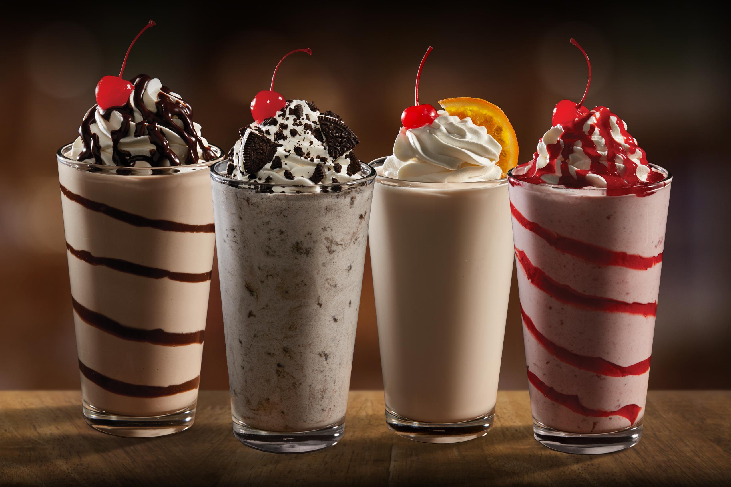 four nathan's premium milkshakes